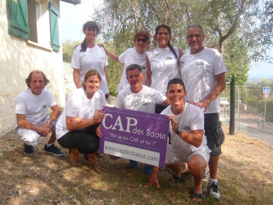 Les bénévoles de l'association CAP des Baous.