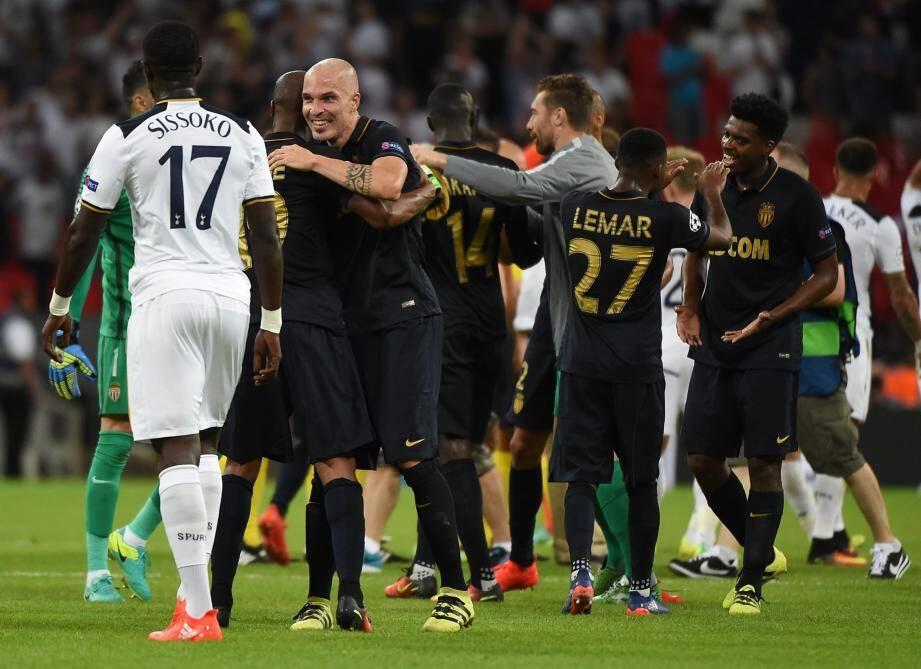 Les Monégasques ont réalisé une énorme performance en allant battre Tottenham à Wembley.