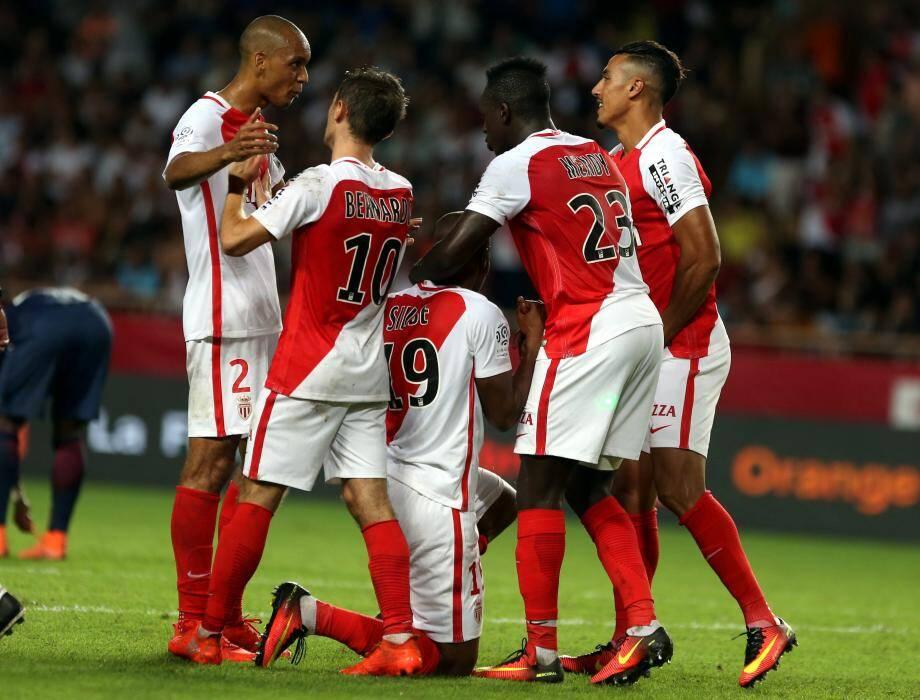 Monaco heureux, une image habituelle en ce début de saison.