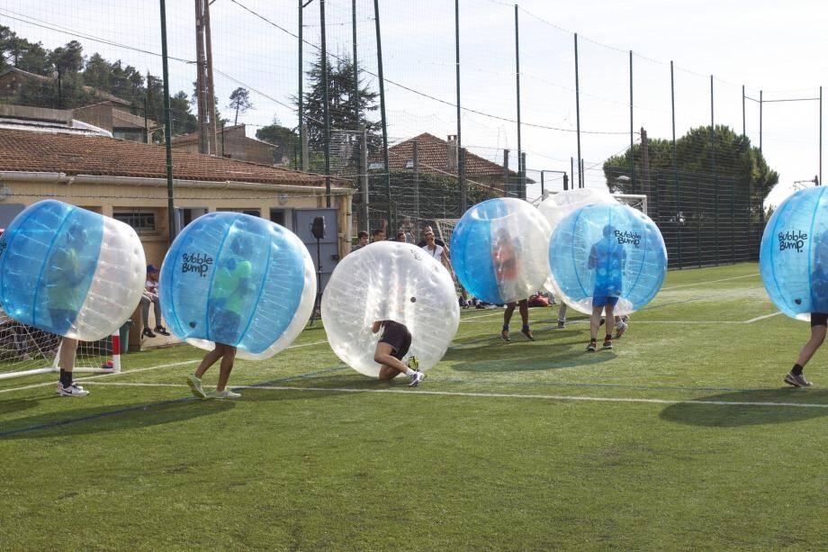 Bonne humeur garantie avec le tournoi de bubble-foot qui clôturera les festivités le 2 octobre.