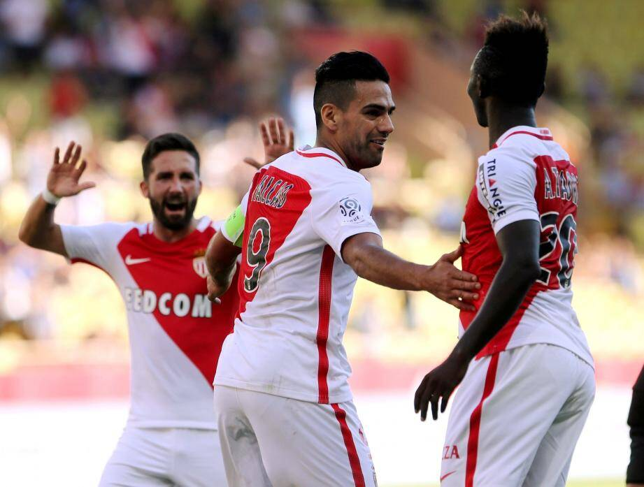 Moutinho, Falcao et Traoré peuvent avoir le sourire. Monaco vient d'enchaîner un septième succès de rang toutes compétitions confondues.