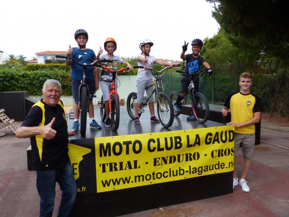 Grâce au moto-club de la Gaude, les Laurentins mordus de VTT ont leur nouveau terrain de jeu.