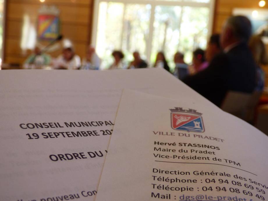 26 points  étaient hier à l'ordre du jour du conseil municipal de rentrée.