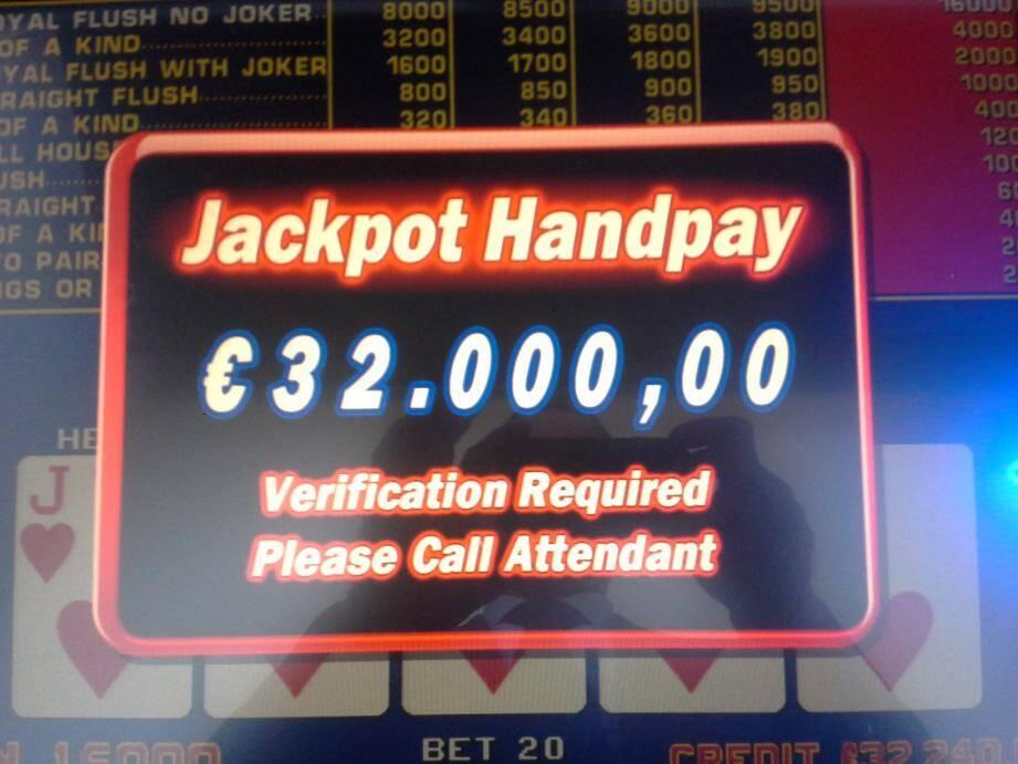 111 571 euros au total gagnés sur la même machine.(D.R.)