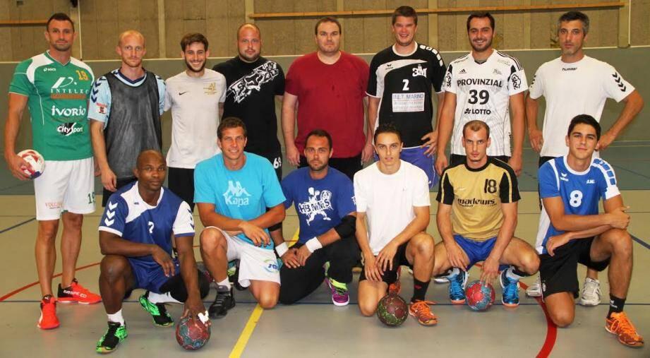 Les joueurs du HB Mougins - Mouans-Sartoux ont bien mal débuté la saison…