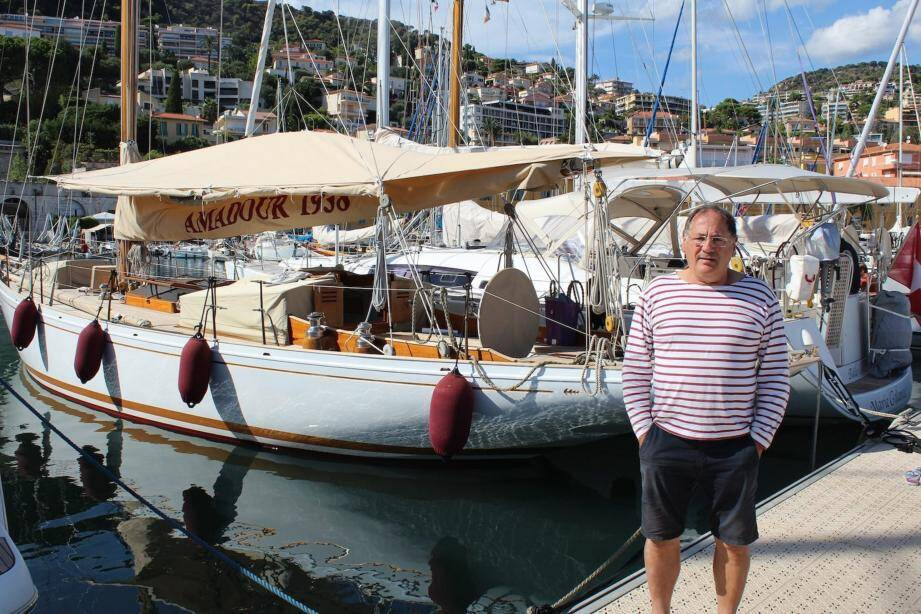 Les plus beaux yachts de tradition sont passés entre les mains de Gilbert Pasqui.