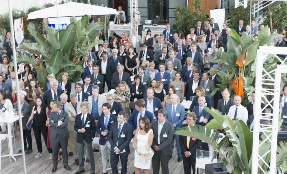 Plus de 250 entrepreneurs ont assisté, en début de semaine au Yacht-club, au « 27e rendez-vous  des adhérents » organisé par le Monaco Economic Board.(DR)