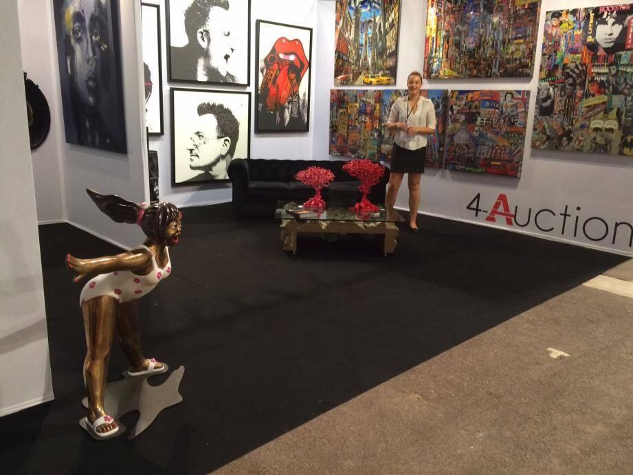 4-Auction : une galerie niçoise pour promouvoir les talents locaux.