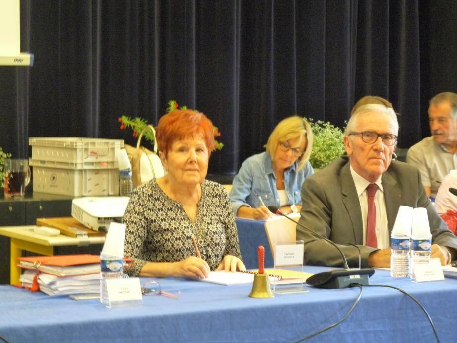 Lors du conseil municipal, Christiane Hummel a insisté sur « l'esprit de solidarité » au sein de l'agglomération.