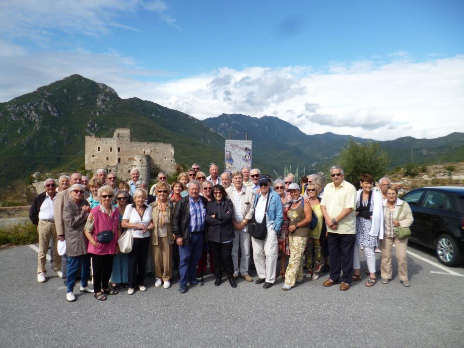 Ils étaient une cinquantaine à participer à cette sortie en Ligurie.(D.R.)