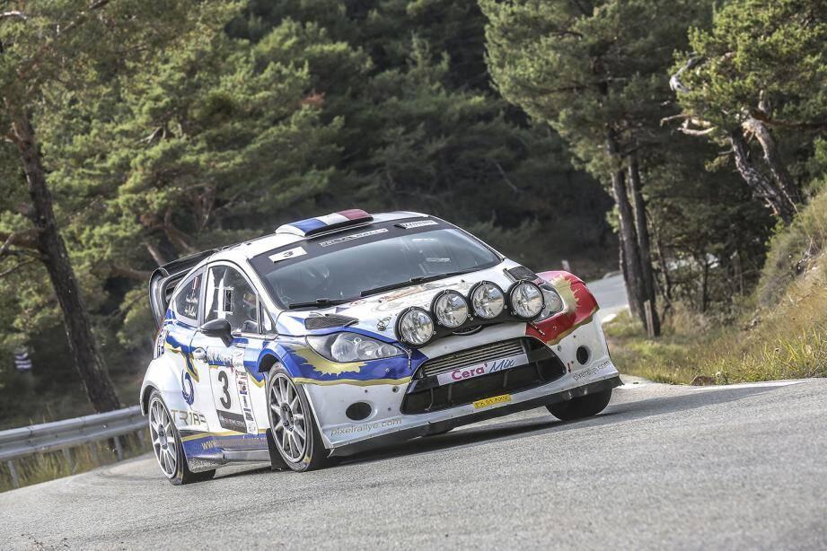 Entre Mons et Castellane, hier, Franck Lions (Ford Fiesta WRC) a imposé sa griffe sans partage. Reste maintenant à tenir la distance...