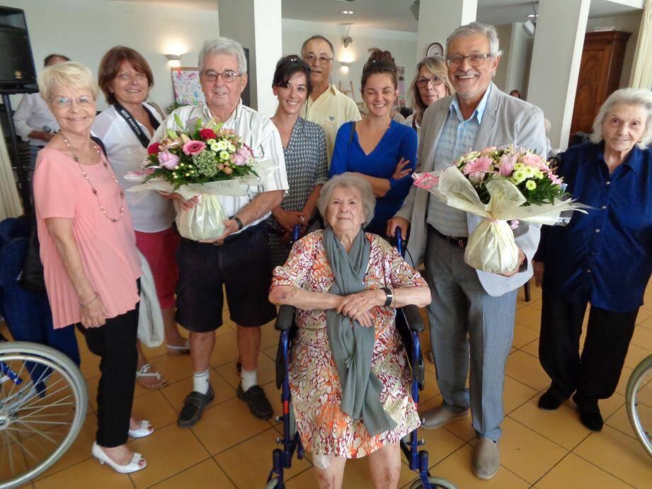 Alice Bourguignon a fêté ses cent ans à La Vençoise.