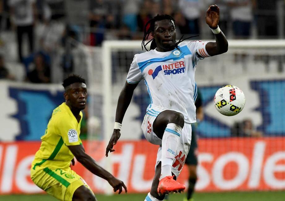 Bafétimbi Gomis a offert la victoire à Marseille. Il était temps...