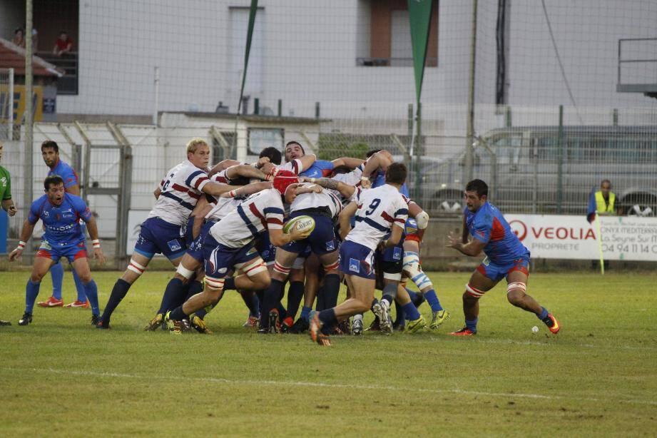 Les Grassois ont décroché le bonus défensif à la toute fin de la rencontre à La Seyne (16-22).