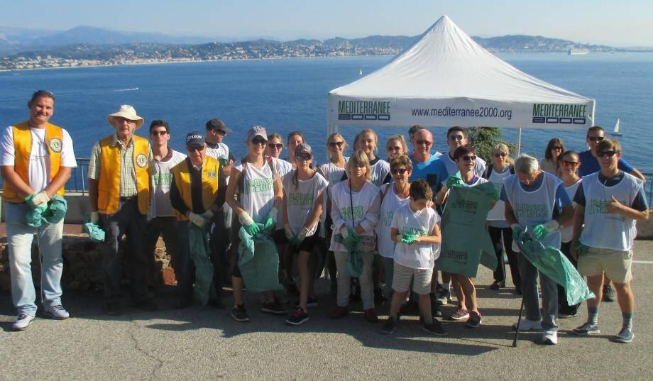 L'association Méditerranée 2000 a organisé une opération ramassage des déchets dimanche matin.
