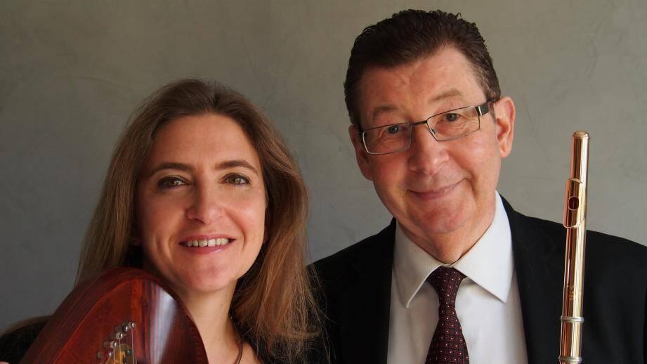 Magali Pyka de Coster et Philippe Depetris seront en concert après-demain à 17 heures en la chapelle Notre-Dame-des-Grâces de Vallauris. (DR)