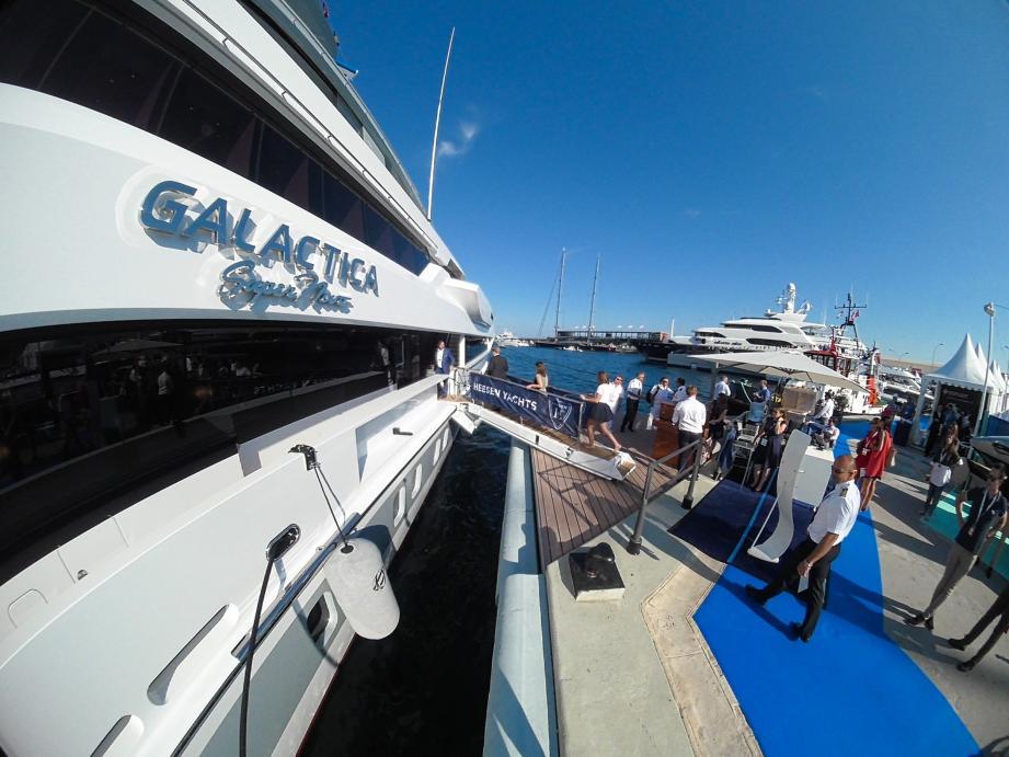 Le bateau dessiné par Espen Oeino, dont les bureaux sont installés à Monaco, a remporté deux prix à lui seul.