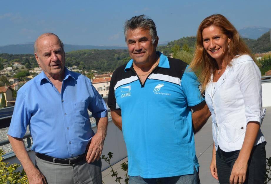 Walter Raso a été félicité par le maire Gilbert Pibou et son adjointe Florence Ludwig-Simon.