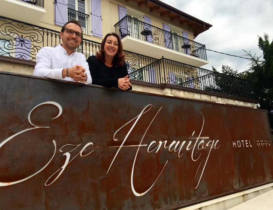 Federica et Maxime ont accueilli en premier l'équipe de tournage. Deux jours pour cinquante minutes d'émission prévue mercredi à 18 h 50.