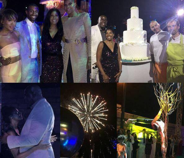 Venise, Monaco et Saint-Tropez, un programme grandiose pour les 25 ans de mariage de Magic et Cookie Johnson