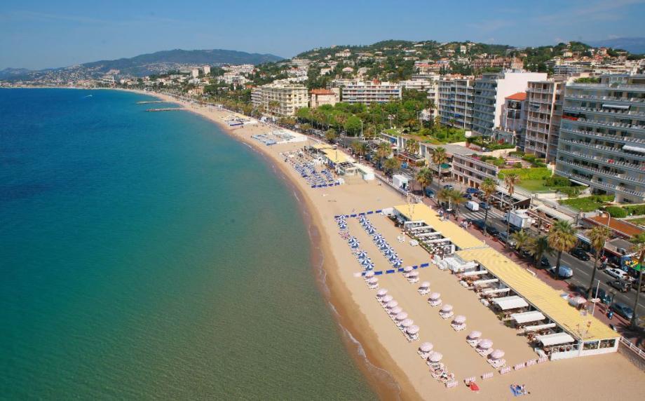 Le boulevard du Midi à Cannes.