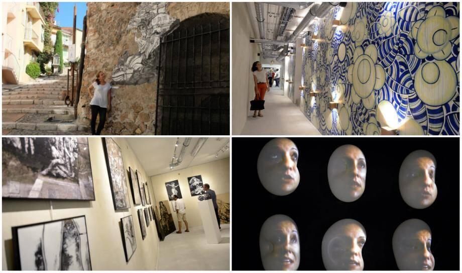 Le Suquet des Art(iste)s regorge de talents entre les estampes d'Olivia Paroldi, les fresques de Modely Thibaud, les vidéos de Viviane Riberaigua. Et bien d'autres artistes...