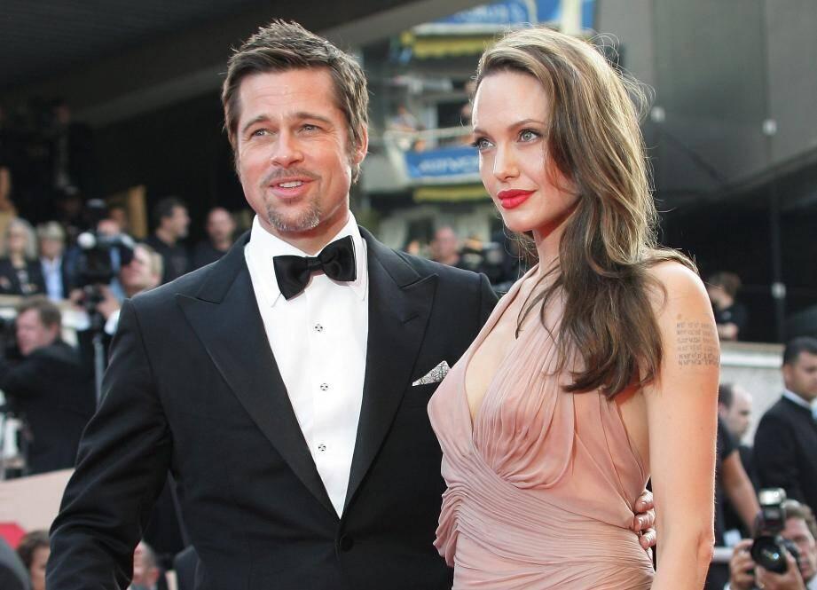 Brad Pitt et Angelina Jolie ici en 2009 au Festival de Cannes.