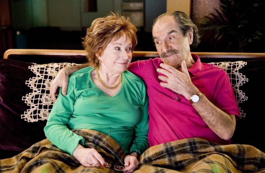 Couple de l'émission Scènes de ménages.