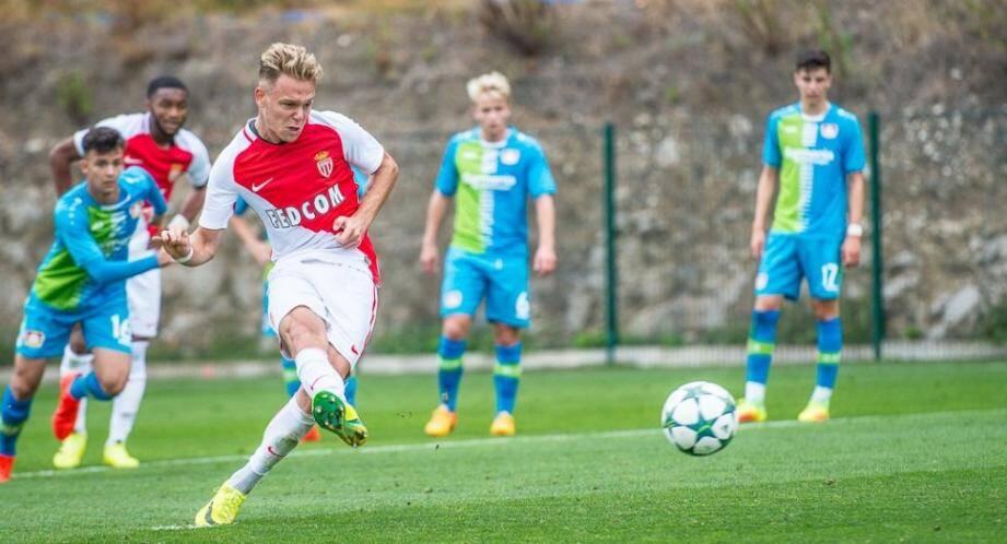 Irvin Cardona a inscrit 5 buts en deux rencontres européennes cette saison.