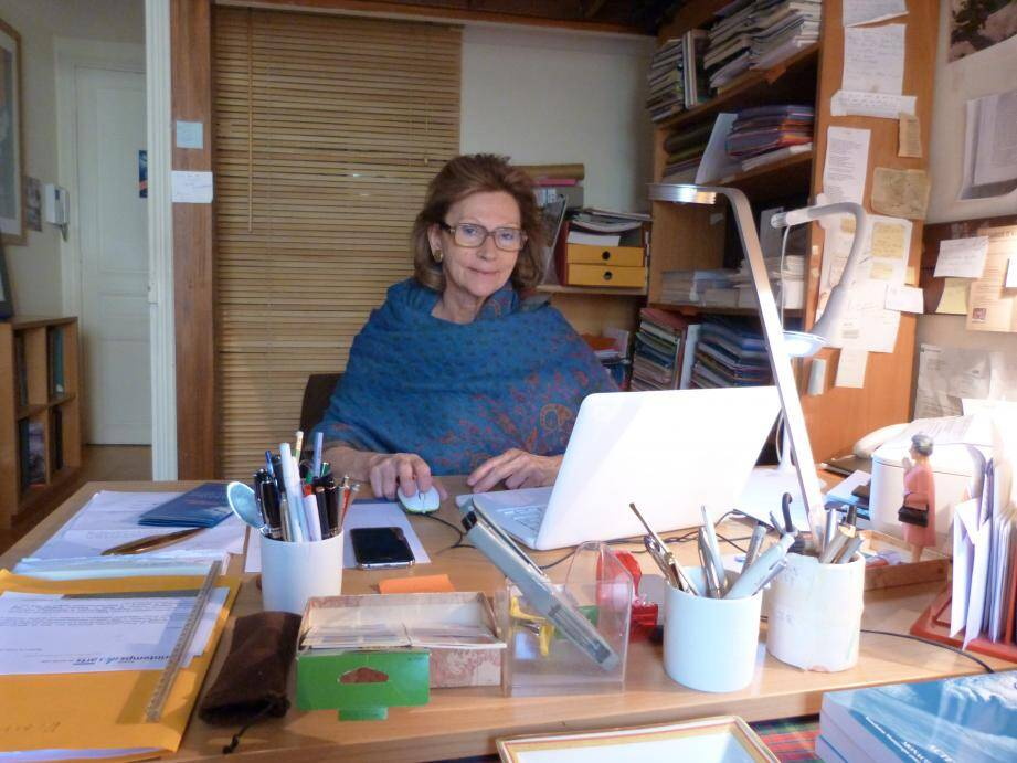 Elisabeth Bréaud, une femme engagée pour l'art et la culture depuis trente ans avec l'association pour la connaissance des arts.