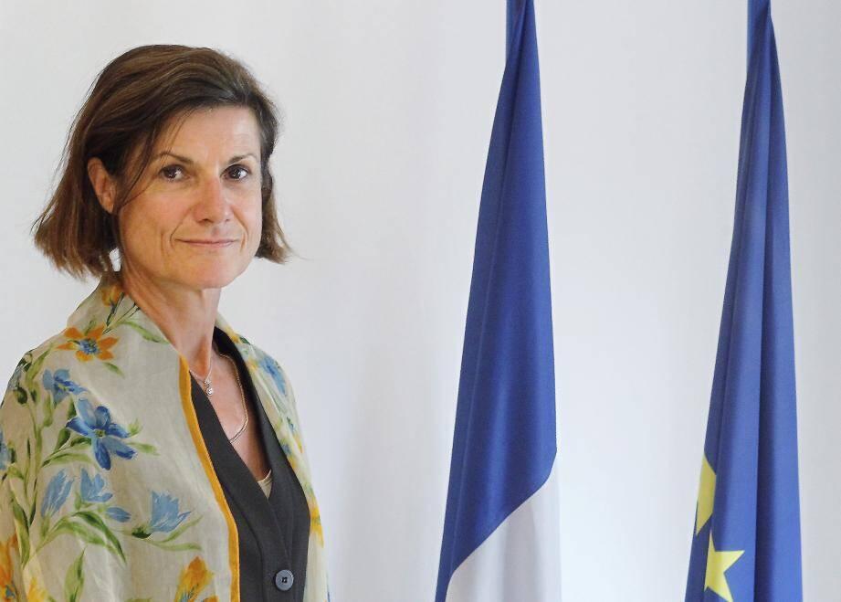Marine de Carné-Trécesson, ambassadrice de France à Monaco.