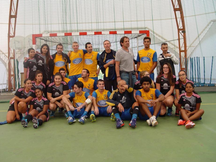 Les équipes masculines et féminines du club de Beausoleil débutent leur saison avec deux victoires d'affilée chacune.