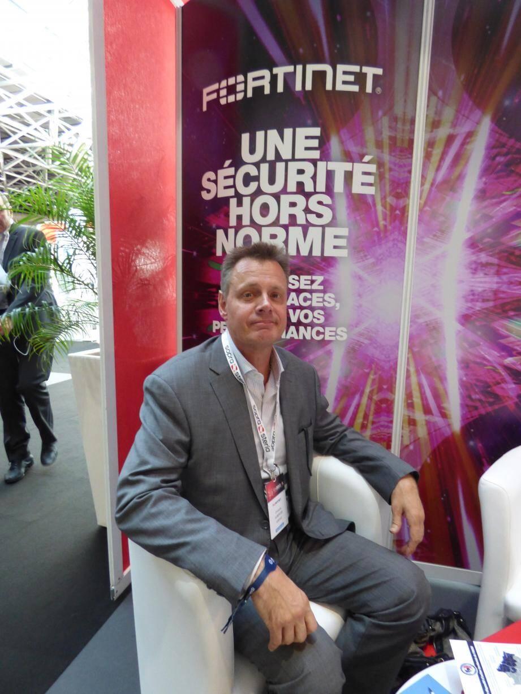 Christophe Auberger, directeur technique France de Fortinet.