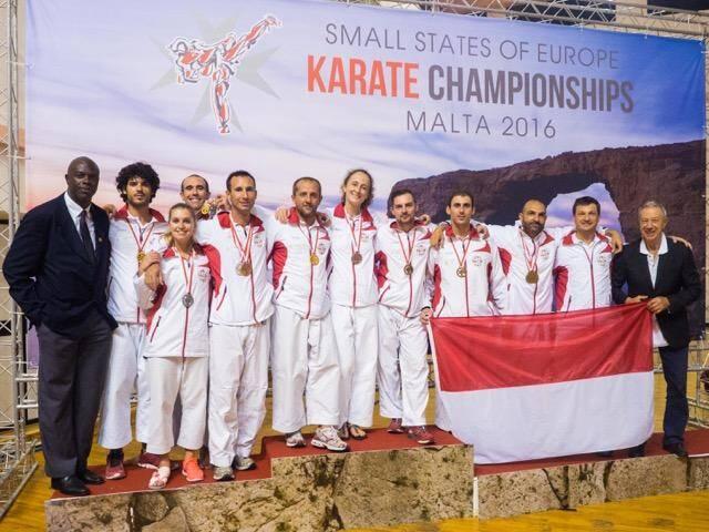 Les compétiteurs du Karaté club Shotokan de Monaco ont trusté les premières places à Malte,  à l'occasion du championnat d'Europe des petits états.