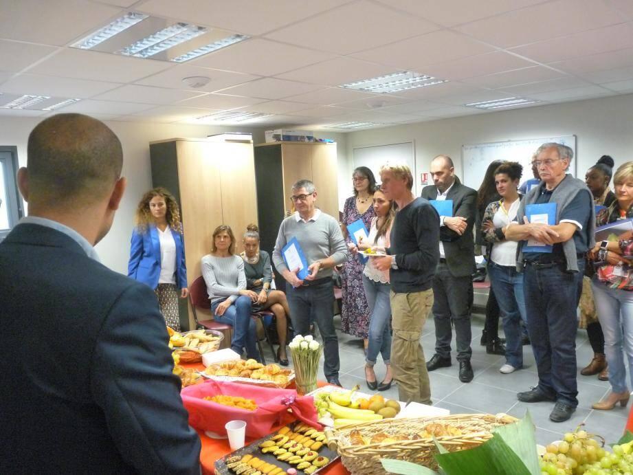 Partenaires et acteurs azuréens de la protection judiciaire de la jeunesse des Alpes-Maritimes étaient réunis dans les locaux grassois.