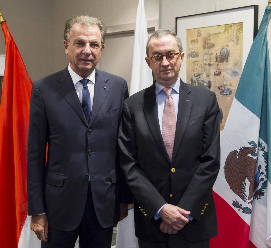 Juan Manuel Gomez Robledo invité d'honneur d'un ambassador's lunch organisé par le MEB.