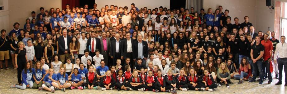A Don Bosco, l'Institut de développement des intérêts scolaires des sportifs et musiciens vient de faire sa rentrée.(D. R.)