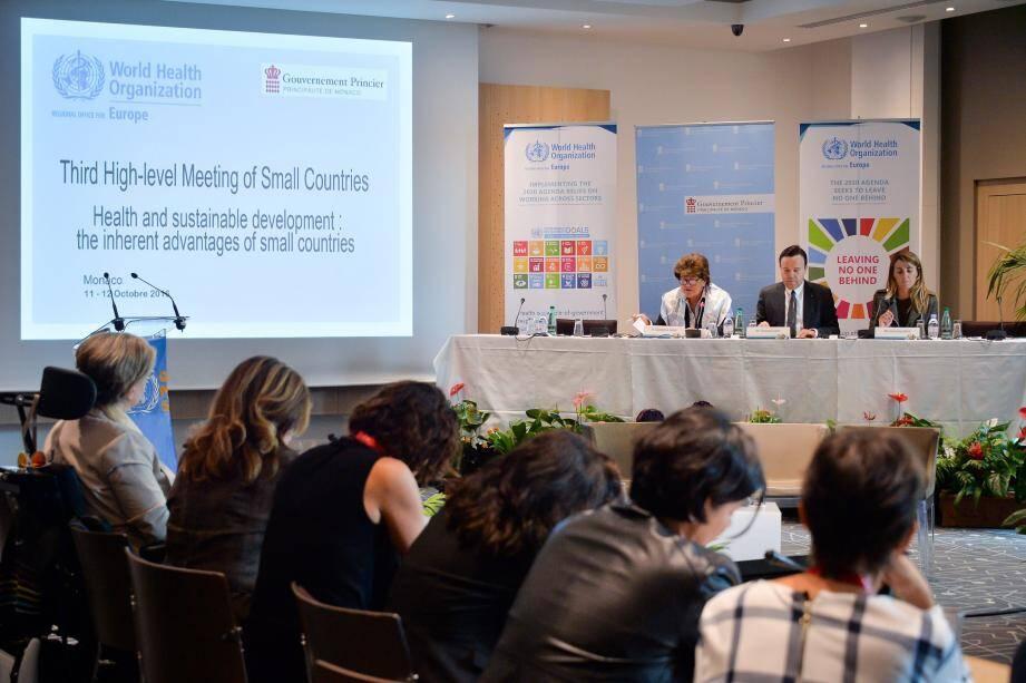 Hier, au dernier jour de cette troisième réunion de haut niveau de l'initiative des petits pays de l'OMS Europe.