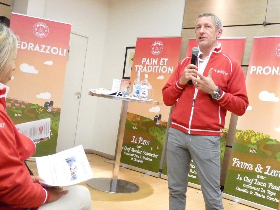 Paolo Sari a dévoilé hier le programme de ces journées et soirées dédiées à la gastronomie.