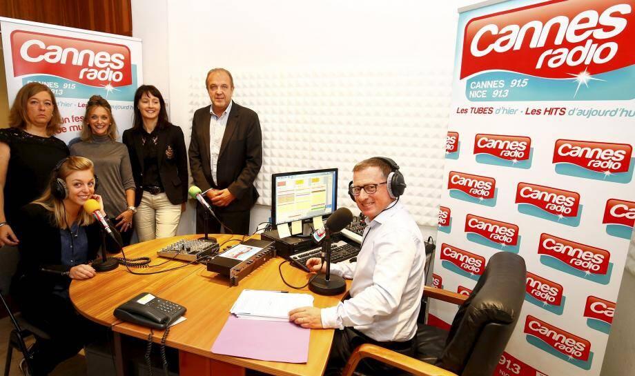 La dynamique équipe de Cannes Radio.