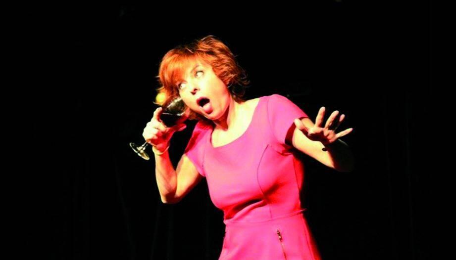 Sylvie Malys en one-woman-show dimanche.(DR)