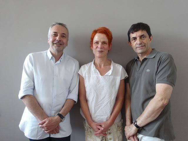 Philippe Bernold, Marika Hofmeyer et Philippe Cauchefer. (DR)