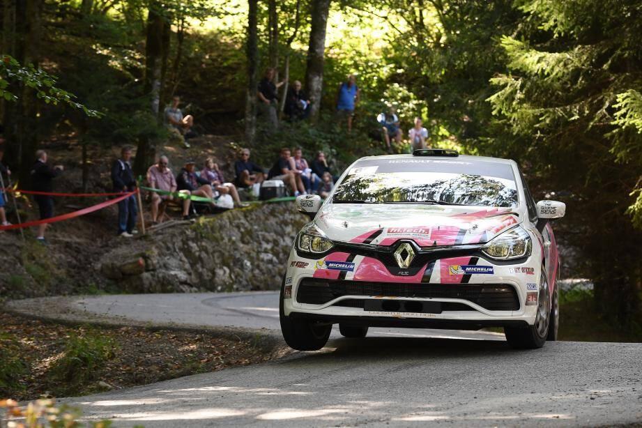 Après avoir décroché le titre national féminin sur les pentes du Mont-Blanc (ci-dessus), Charlotte Dalmasso visera le top 3 du Clio R3T France Trophy le mois prochain en terre varoise.