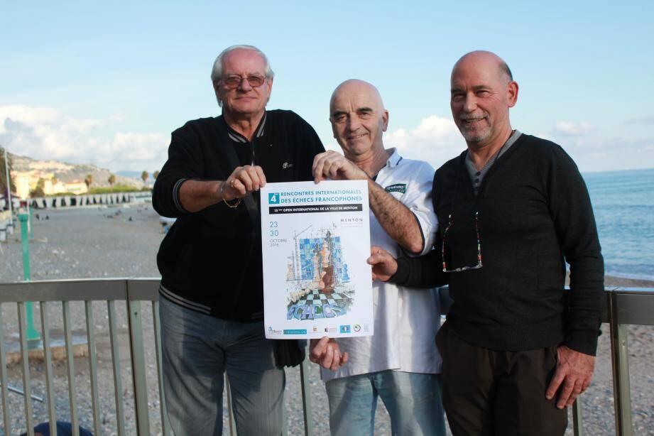 Pour annoncer l'événement, un peu particulier cette année, les organisateurs ont eu recours au talent de dessinateur d'un membre du club mentonnais, l'artiste Robert Lépine.