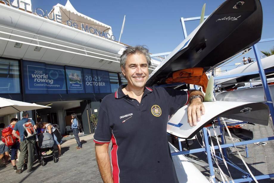 Jean-François Gourdon veut ancrer Monaco comme une référence de l'aviron.