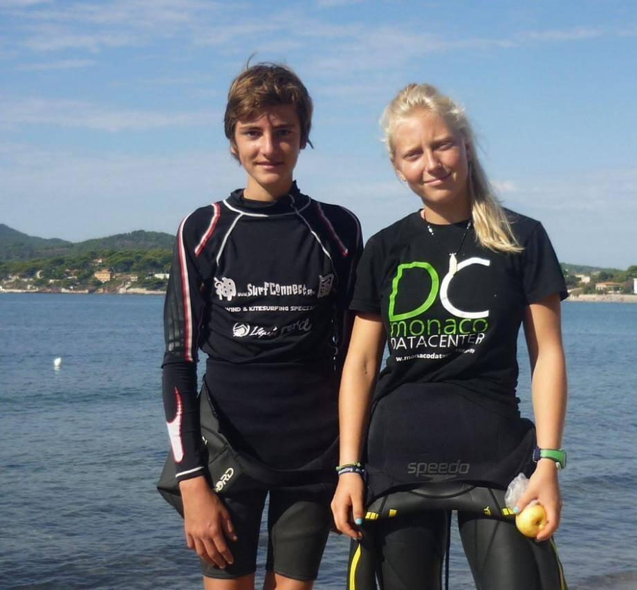 Thibault Peregrini rafle le bronze et partira avec Iris Bielaszja aux mondiaux des moins de 17 ans.(DR)