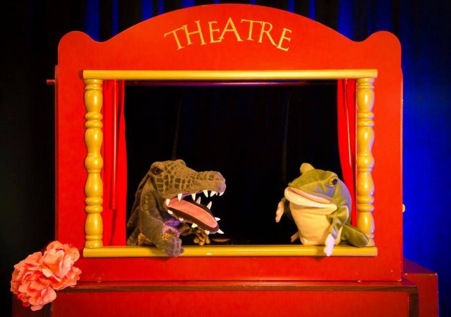 Douze spectacles sont prévus pour le jeune public, comme La Grenouille à grande bouche, au théâtre de l'Alphabet.(D. R.)
