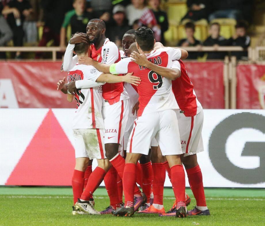 Les Monégasques peuvent se congratuler. Ils ont déjà inscrit 29 buts en dix journées de L1, soit presque trois par match en moyenne !