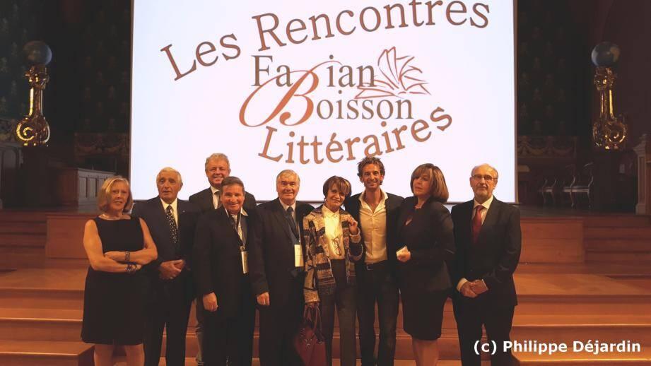 L'apnéiste était l'invité de l'association « Les rencontres littéraires Fabian Boisson ».