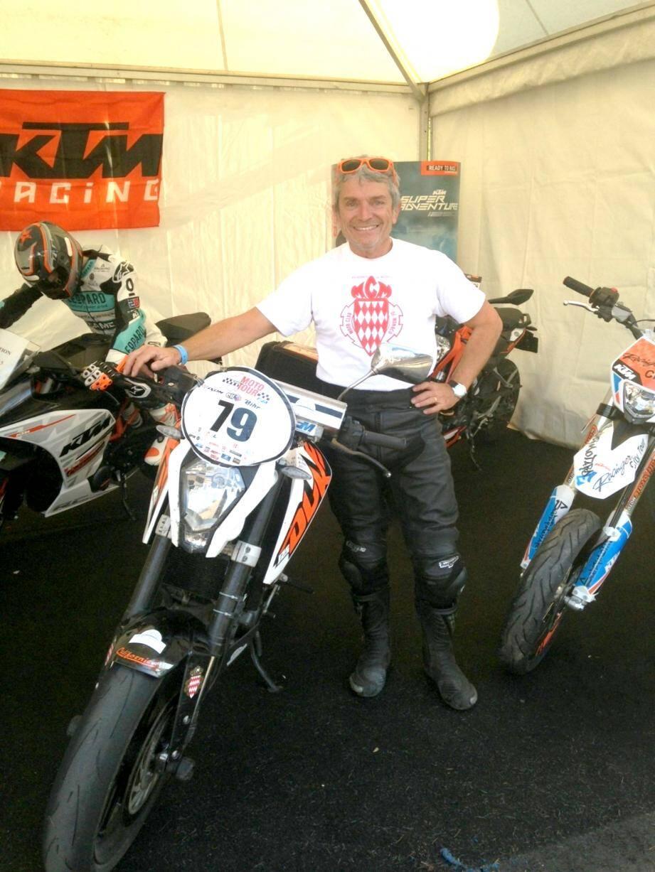 Le Cap-d'Aillois Gérard Spagli remporte le Moto Tour Sud en catégorie 125.(DR)
